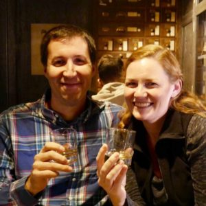 Happy Couple with Dublin Whiskey Tours
