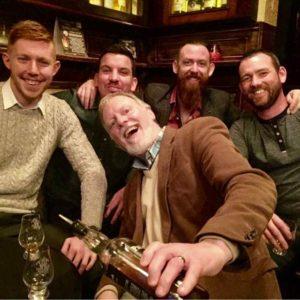 Customers enjoying Dublin Whiskey Tours