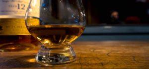 Irish Whiskey Glass and Green Spot