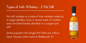 TWITTER IRISH WHISKEY TYPES NO.3 SINGLE POT STILL