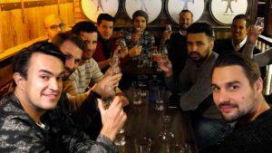 Group enjoying Dublin Whiskey Tours