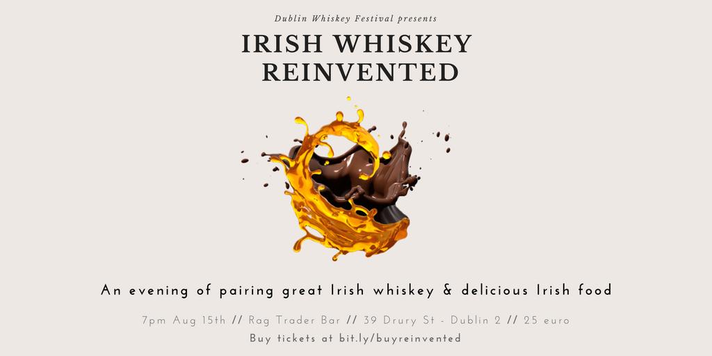 Dublin Whiskey Tours - IRISH WHISKEY REINVENTED