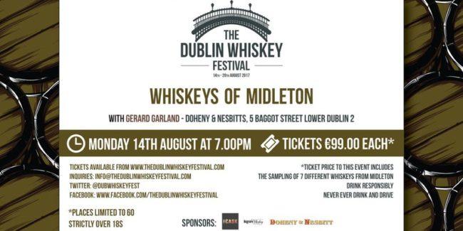 Dublin Whiskey Tours - Dublin Whiskey Festival