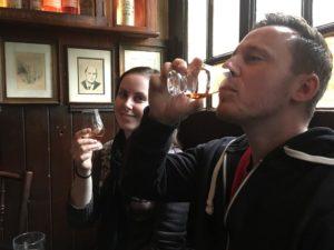 Dublin Whiskey Tours - Tasting Tour in the snug
