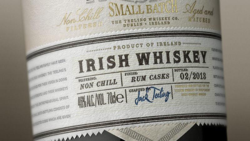 Dublin Whiskey News - November 14- 2018 - Teeling Small Batch