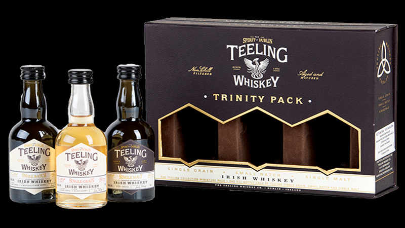 12 Whiskey Gifts of Christmas - Day 5 - Teeling Minature Set