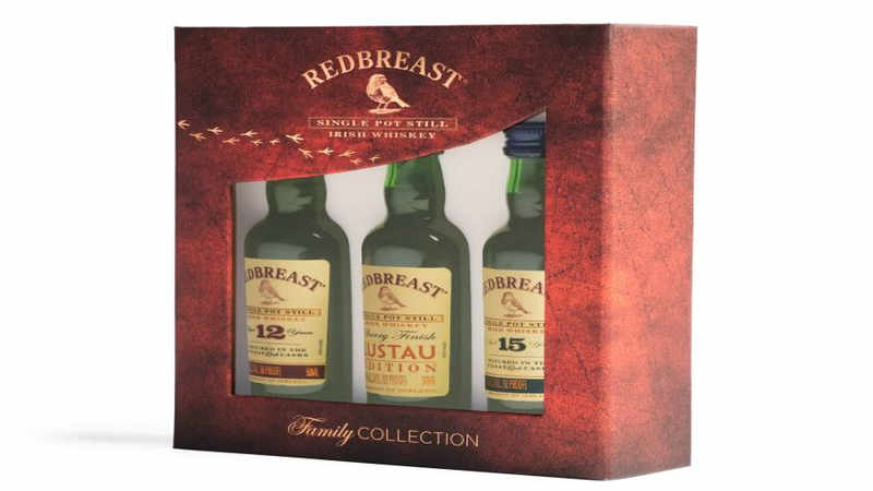 12 Whiskey Gifts of Christmas - Day 8 - Redbreast Collection Miniature Set