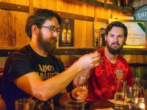 Dublin Whiskey Tours - Enjoying Irish Whiskey at Dingle Whiskey Bar