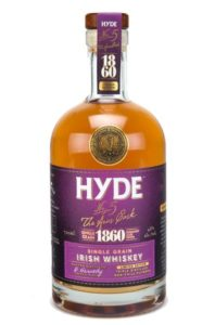 Perfect Irish Whiskey Christmas Gifts for under €50 - Hyde-1860-Grain-Rum-Finish