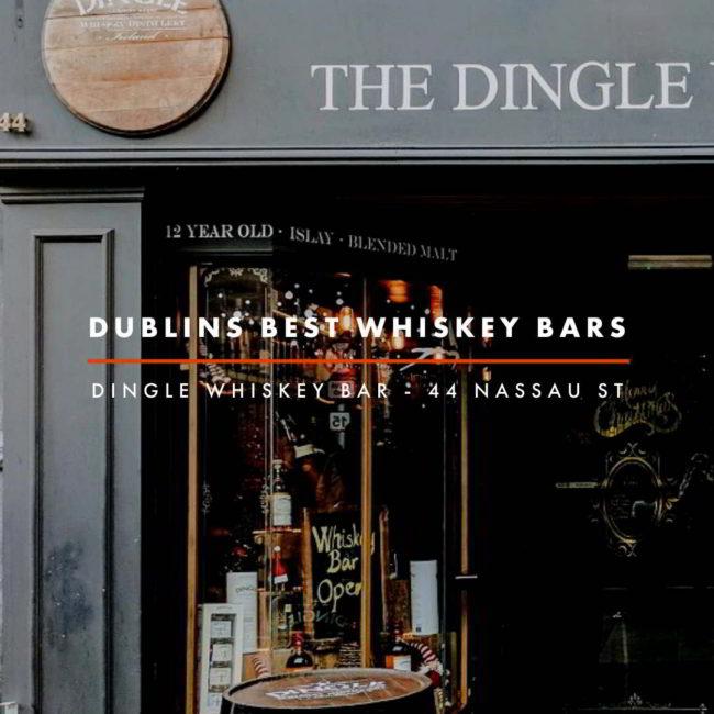Dublin Whiskey Tours - Dublins Best Whiskey Bars - Dingle Whiskey Bar
