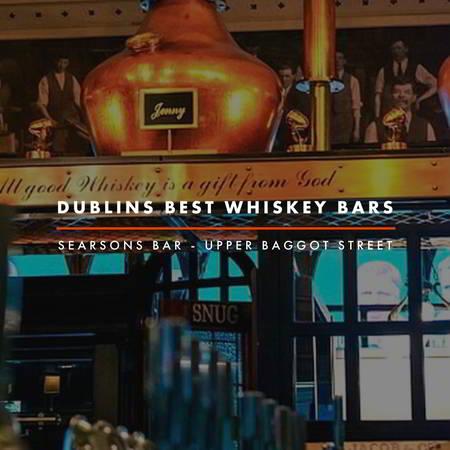 Dublin Whiskey Tours - Dublins Best Whiskey Bars - Searsons Bar