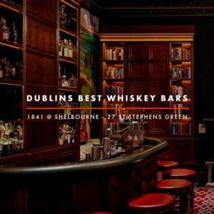 Dublin Whiskey Tours - Dublins Best Whiskey Bars - Shelbourne Whiskey Bar